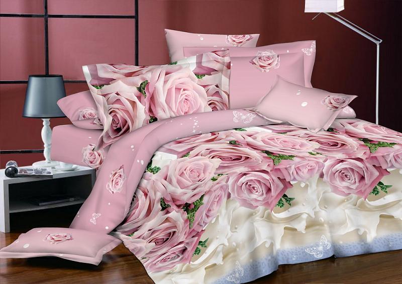Вариация расцветок и стилей в постельном белье из поплина от Партнер 37